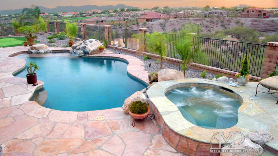 11. Custom Pool & Spa