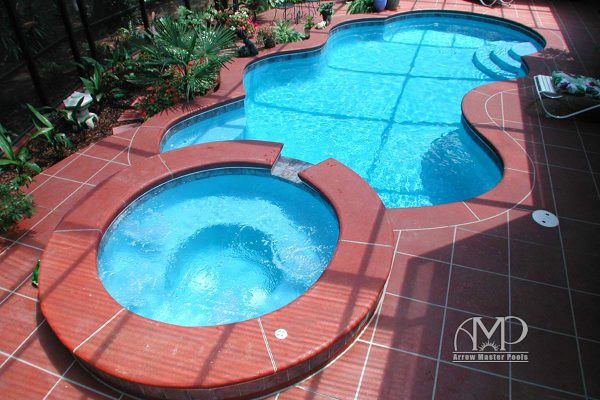 9. Custom Pool & Spa
