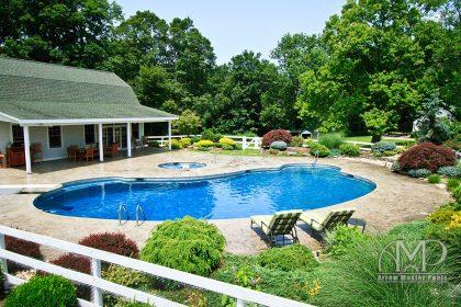 24. Custom Pool & Spa