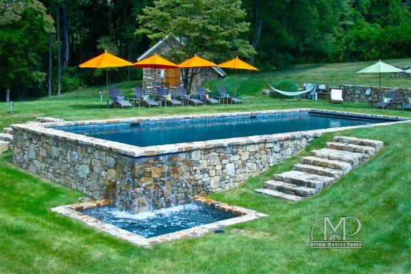 1. Custom Pool & Spa