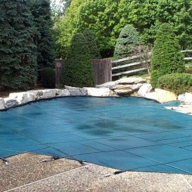 Arrow Master Pools Custom Safety Covers