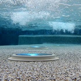 Arrow Master Pools Pebble Tech & LED Lighting
