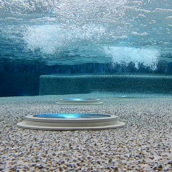 Arrow Master Pools Pebble Tech & LED Lighting